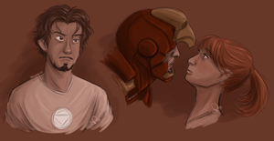 iron man sketches 062213 by VinDeamer