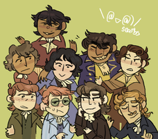 several french revolutionaries by snarbs