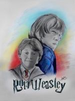 Ron Weasley by karlyilustraciones