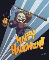 Happy Halloween Color by DerekLaufman
