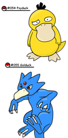 Pokedex 54-55 by Nintendrawer