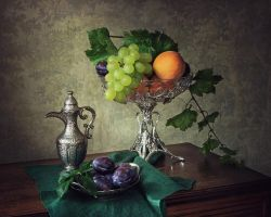 Still life with fruits by Daykiney