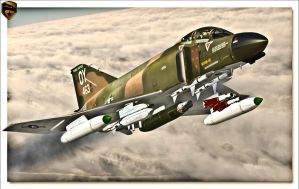 F-4 Phantom II by rOEN911
