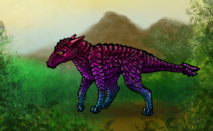 Creature colored by Zifriel