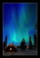 Northern lights 10 by Tinnunculus