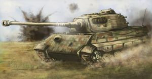 Last Dance, King Tiger - Battle of Halbe 1945 by derbz