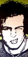 Sid Vicious Sex Pistols new by chrispjones