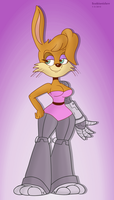 Bunnie Rabbot by ScoBionicle99