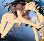 Lind and Nakayama Air gear by titaniaerza