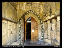 Stone carvings Bakewell rld 03 by richardldixon