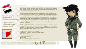 APH Profile: Syria by LoMbIeGuRl