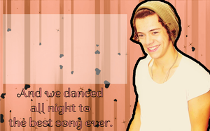 Harry Styles Wallpaper Peach by iluvlouis