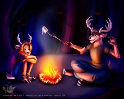Campfire Tales by Silberry