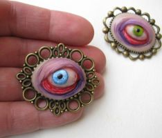 Brooches by mealymonsterland