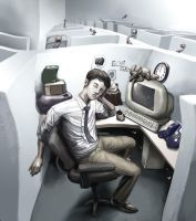 Cubicle 2 by CBSorgeArtworks