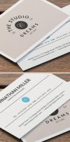 Studio Dreams Business Card by khaledzz9