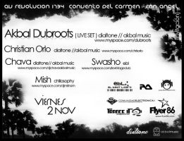 Flyer AKBAL minimal BACK by Flyer86