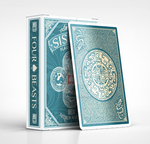 SiShou Four Beasts Playing Cards by alvincheunghy