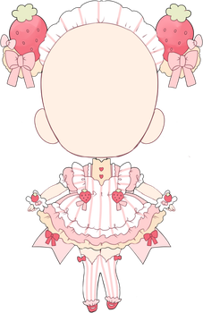 c: shortcake maid outfit by Hacuubii