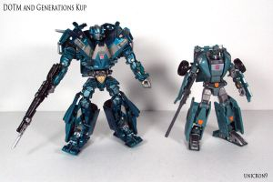 DOTM and Generations Kup by Unicron9