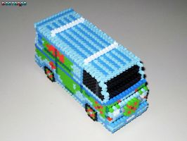Mystery Machine 3D Bead Sprite by DrOctoroc