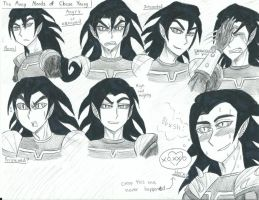 Chase Young expressions0002 by Strawberrylightning