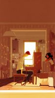 The Piano by PascalCampion