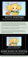 How to Make Witty Posters by Glittercandy
