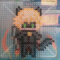 Perler Creation: Chat Noir by koiykeuchiha