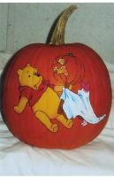 Boo to Pooh by pumpkinmaster