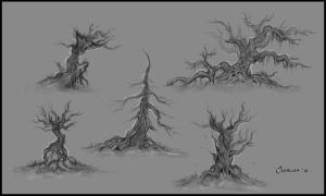 Trees Concept Sheet by AlexanderExorcist