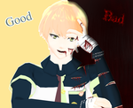 Good Ending or Bad Ending Noiz by KingdomHeartsNickey