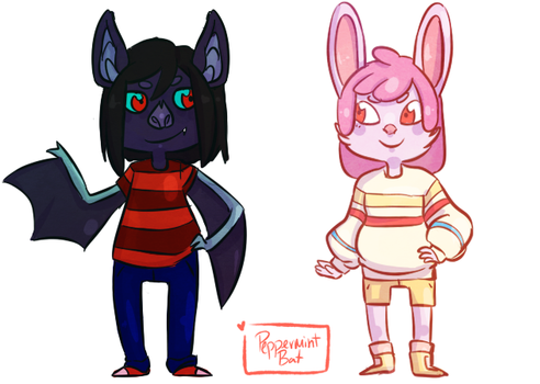 Animal Crossing AT AU by PeppermintBat