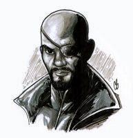 Nick Fury by BigChrisGallery