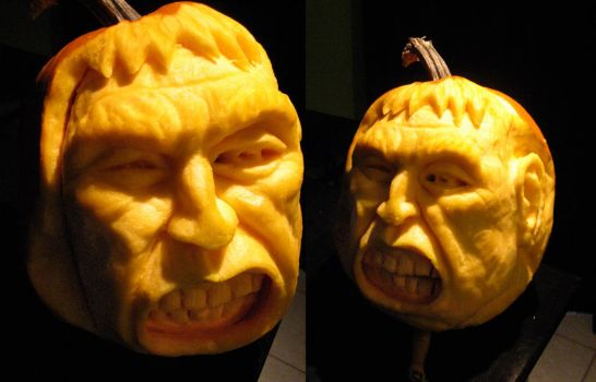 pumpkin carving by mojette