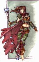 Kaya of warmachines by echostar