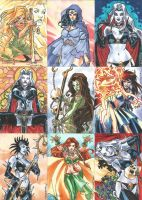 Lady Death 2 Sketch Cards 02 by Celestial4ever