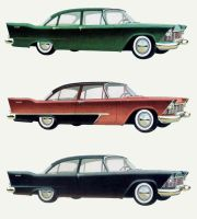 age of chrome and fins : 1957 Plymouth by Peterhoff3