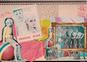 Jessica Stam - Circus Glamour by Giulush