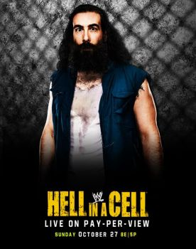 WWE Hell in a Cell 2013 Poster Remake by ValySorin18