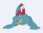 Feraligatr by mssingno