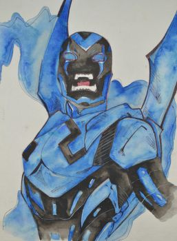 Blue Beetle (Jaime Reyes) by ulqra