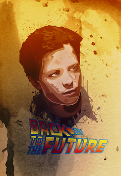 Back To The Future 25th annive by AurorOfPuppets