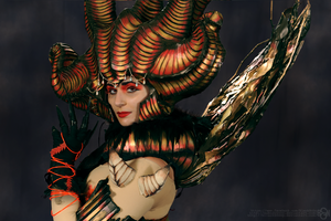 Dantes Inferno Cosplay: Beatrice Close Up by Nobodyyyyy
