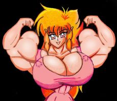 Flexing Iczer 1 by Iczerman