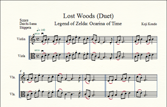 Lost Woods - Duet by shippeta