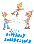 happy birthday lollygagger1999!!! by Pencil-snap