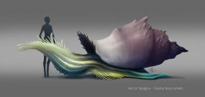 Painted Snalien_04 by Spighy