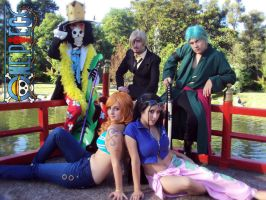 ONE PIECE - TIME SKIP TEAM by Candustark