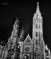 Budapest Catholic Church HDR by Creative--Dragon